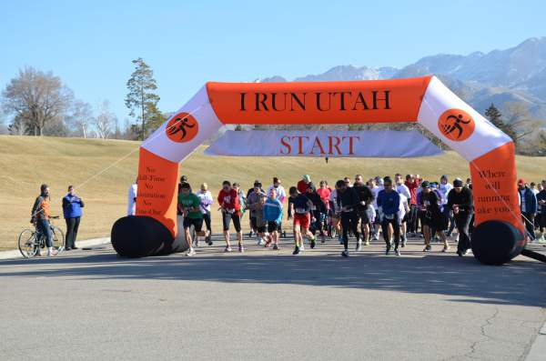 Start of the 2015 Chili Open 5k